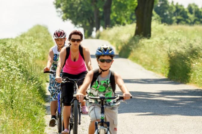 Auf den steigungsarmen Strecken kann man während dem Radeln die Landschaft genießen. (#2)