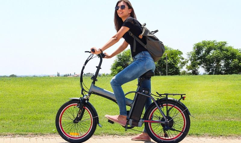 Selbstverständlich können Sie das Elektro Klapprad für alle Aktivitäten verwenden, für Sie Sie bisher ein gewöhnliches E-Bike nutzen. (#01)