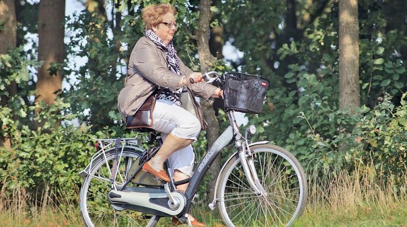 Elektrofahrräder unterscheiden sich durch ihre höhere Durchschnittsgeschwindigkeit.