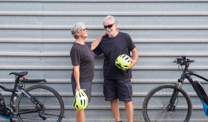 Vorschriften zum E-Bike: Eine Helmpflicht besteht nicht..